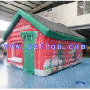 Funny Inflatable Christmas Decoration / Inflatable Christmas Decorations Santa House