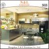 現代食器棚デザイン高品質のSatainlessの鋼鉄台所単位