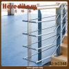 실내 층계 (SJ-H1348)를 위한 금속 강철 플레이트 난간 로드 방책 디자인
