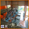Máquina negra de la presión negativa de la planta de la limpieza del petróleo de motor para basar el petróleo