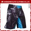 L'OEM assiste gli Shorts dello Spandex MMA del poliestere spaccati uomini poco costosi (ELTMMJ-142)