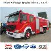 de Vrachtwagen Euro3 van de Brand van het Schuim 12ton Sinotruk