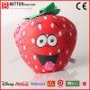 Stuk speelgoed van de Pluche van de Ananas van de Watermeloen van de Aardbei van zachte Vruchten het Gevulde voor Jonge geitjes