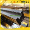 Lamelles en aluminium expulsées pour la frontière de sécurité avec les profils en aluminium d'extrusion