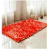 Tapis de bain en chenille brillant en polyester résistant aux rétrécissements de haute qualité