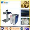 Marcador portátil do laser da máquina da marcação do laser da fibra no metal, papel