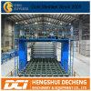 機械または石膏ボードの生産ラインを作っている2-30百万人のギプスの乾式壁の製造工程または石膏ボード