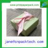 Rectángulo de papel de Pachaging del rectángulo de regalo de la cinta