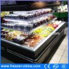 ウォールマートのスーパーマーケットは外気のクーラーの表示冷却装置ショーケースを使用した