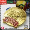 Medalla vendedora superior del metal del recuerdo del oro de la aleación 3D del cinc de la concesión