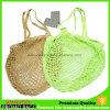 Obst- und GemüseBaumwollnetz-Einkaufen-Beutel, die Ineinander greifen-Beutel falten
