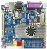 Intel Top525 Integrated Laptop Motherboard mit CPU 6*COM Lvds