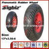 Venda quente baratos carrinho de mão pneu em tamanho 3,50-6