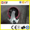 Justierbares Fußrollen-Rad mit Bremse für Baugerüst