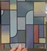 Film en verre décoratif de fenêtre, film de fenêtre de couleur, film décoratif mat imperméable à l'eau de fenêtre