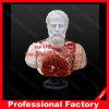 Statua famosa romana del busto di Antinous di mito della scultura di marmo bianca