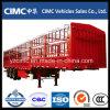 Cimc de Aanhangwagen van de Lading van de Staaf van het Pakhuis van 3 Assen