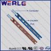 Câble 1007 électrique à un conducteur d'isolation de PVC d'A.W.G. 24 d'UL