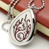316L Stainless Steel Necklace Pendant Diffuser Perfume Locket