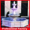 Fontana di acqua di scultura di marmo di pietra