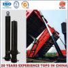 Cilindros hidráulicos telescópicos de vários estágios para derrubar o caminhão/reboque