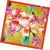 Шарф повелительницы Цветка Printed Квадрата Шелка способа (HC1302-1)