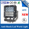 Hülse 60W CREE LED Automobil-LED Scheinwerfer des Arbeits-Licht-4X4
