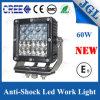 Faro automobilistico dell'indicatore luminoso 4X4 LED del lavoro del CREE LED del baccello 60W