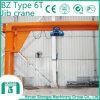 2016 la grue électrique BZ portatif dactylographient à grue de potence 6 tonnes