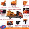 Maquinaria de construção diesel, bomba Caminhão-Montada do misturador concreto