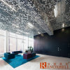 Чудесный Perforated алюминиевый потолок с специальной картиной