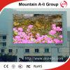 Buena pantalla de visualización al aire libre a todo color impermeable P10