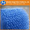 De nylon Blauwe niet-Geborstelde Band van de Kabel van Hook&Loop van de Lijn