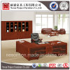 MDF 고품질 목제 베니어 디렉터 사무실 책상 (NS-SL017)