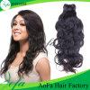 Extensão natural não processada do cabelo humano do cabelo do Virgin da onda de 100%
