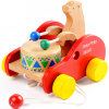 Bier Beating ein Drum Wooden Hand Buggy