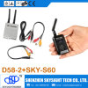 D58-2 32CH 5.8g AV Fpv Diversity Receiver + hemel-N500 500MW 32CH a/V Transmitter met Display Can Connect met Fpv Camera