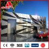 Plat en aluminium de finition de miroir d'argent de matériau de construction ACP