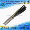 Câble de fil de cuivre flexible de PVC de cordon de secteur de FIL du CROCHET UL2549