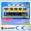 La velocidad común 850spm 4 de Elucky dirige la máquina del bordado de 9 colores