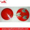 Meule segmentée de diamant pour la prise de meulage concrète/outils concrets
