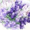 装飾(SW02611)のためのロマンチックなラベンダーの花束の人工花