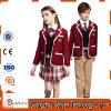 Uniforme scolastico internazionale di disegno del banco per i capretti di cotone