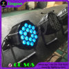 단계 DMX 18PCS 10W RGBW DJ LED 동위 빛