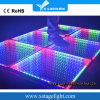 Diodo emissor de luz Dance Floor da mágica 3D da iluminação do DJ