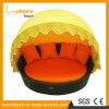 方法特別なデザイン屋外の庭の家具のテラスのおおいのあるベッドの陰の寝台兼用の長椅子