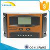Régulateur solaire solaire du contrôleur 10A 12V 24V de Digitals avec l'écran LCD Ld-10A de Settable