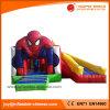 Hombre araña Boucer de salto combinado inflable con la diapositiva (T3-311)