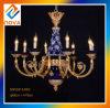 2017 Klassiker-Art-dekorativer Innenmessing und keramischer hängender Leuchter