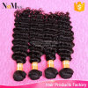 Machine Weft 26inch 28inch 30inch Eurasian Deep Wave Hair